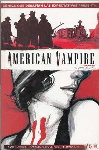 Comic American Vampire Volumen 1 Vertigo Scott Snyder