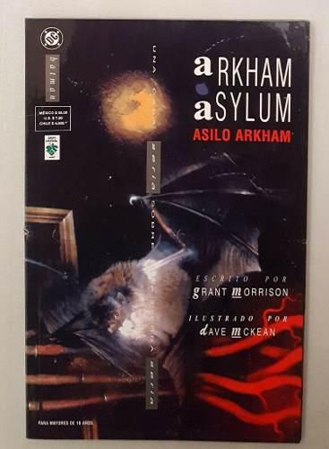 Comic Batman Arkham Asylum Español Editorial Vid