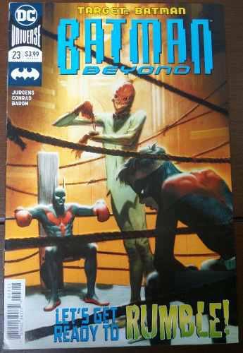 Comic Batman Beyond No.23 (ingles) Dc Universe