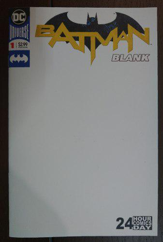 Comic Batman Blank No.1 Dc Comics (24 Pags Para Dibujar)