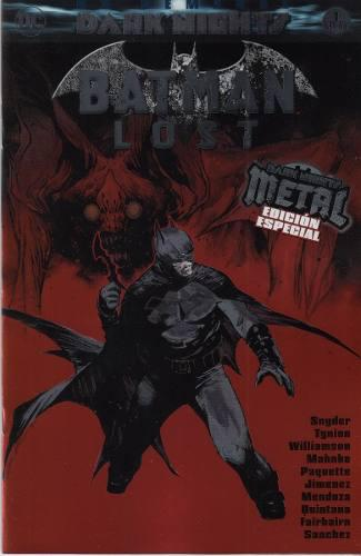 Comic Batman Lost Dark Nights Metal Edicion Especial