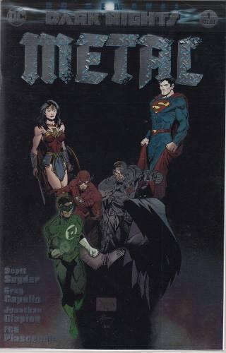 Comic Batman Metal # 1 Dark Nights Español