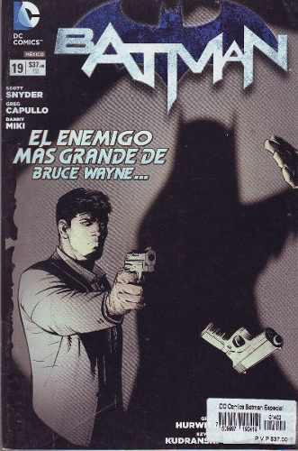Comic Batman New 52 # 19 Carton Y Bolsa Gratis Español