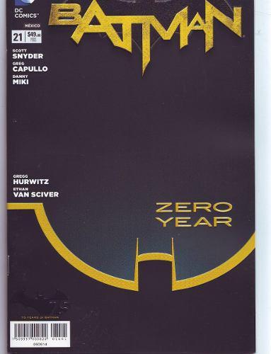 Comic Batman New 52 # 21 Zero Year Español Televisa