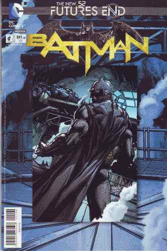 Comic Batman New 52 # Futures End Carton Y Bolsa Gratis