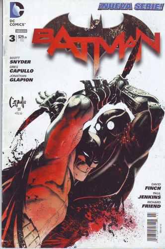 Comic Batman New 52 Tomo 3 Saga Noche Buhos Español Carton