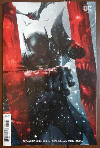 Comic Batman No.357 (ingles) Portada Variante