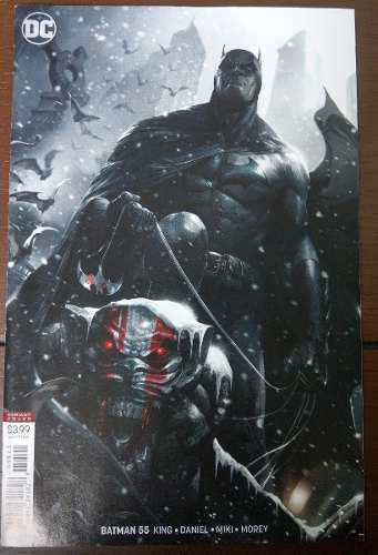 Comic Batman No.55 (ingles) Portada Variante Dc Universe