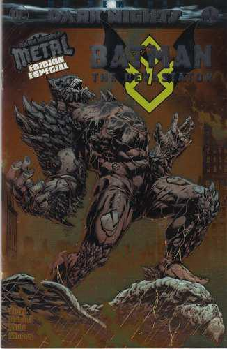 Comic Batman The Devastator Dark Nights Metal Edicion Especi