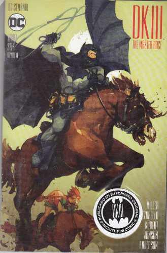Comic Batman: The Dk3 The Master Race Tomo 6 Nuevo Español