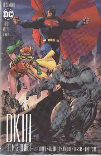 Comic Batman: The Dk3 The Master Race Tomo 9 Nuevo Español