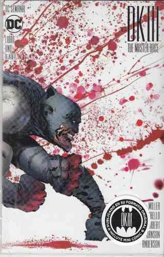 Comic Batman: The Dk3 Tomo 1 Master Race Nuevo En Español