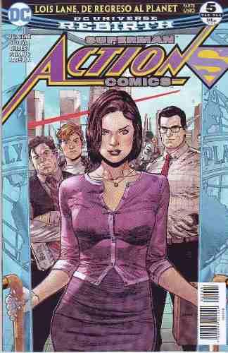 Comic Dc Universe Rebirth Action Comics # 5 Español Nuevo