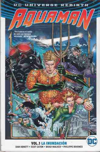 Comic Dc Universe Rebirth Aquaman Volumen 1 La Inundación