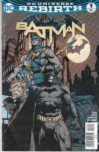 Comic Dc Universe Rebirth Batman # 1 Nuevo Español