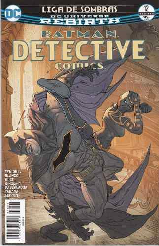 Comic Dc Universe Rebirth Batman Detective Comics # 12 Nuevo