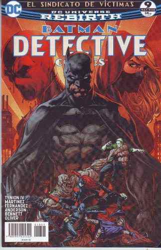Comic Dc Universe Rebirth Batman Detective Comics # 9 Nuevo