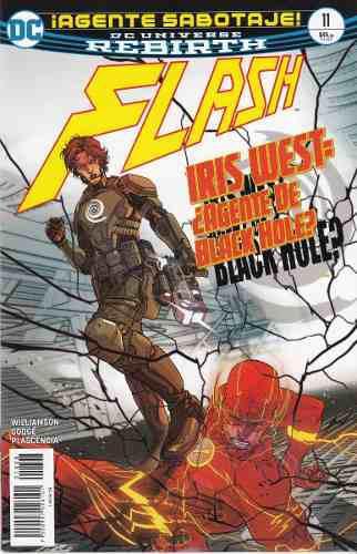 Comic Dc Universe Rebirth Flash # 11 Español Nuevo