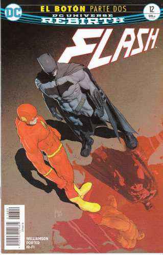 Comic Dc Universe Rebirth Flash # 12 El Boton Parte 2