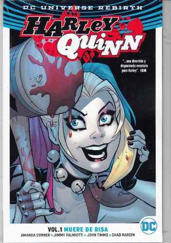Comic Dc Universe Rebirth Harley Quinn Vol. 1 Muere De Risa