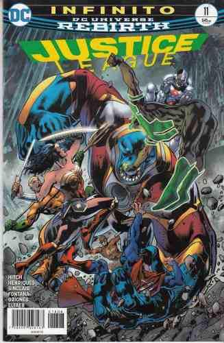 Comic Dc Universe Rebirth Justice League # 11 Español Nuevo