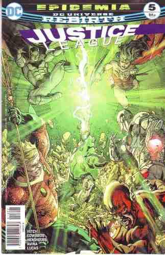Comic Dc Universe Rebirth Justice League # 5 Español Nuevo