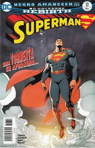Comic Dc Universe Rebirth Superman # 13 Español