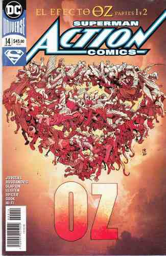 Comic Dc Universe Rebirth Superman Action Comics # 14 Nuevo