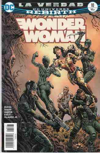 Comic Dc Universe Rebirth Wonder Woman # 10 Español