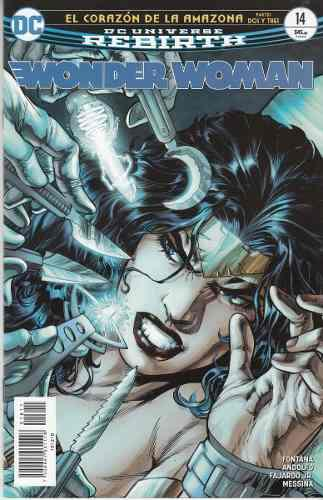 Comic Dc Universe Rebirth Wonder Woman # 14