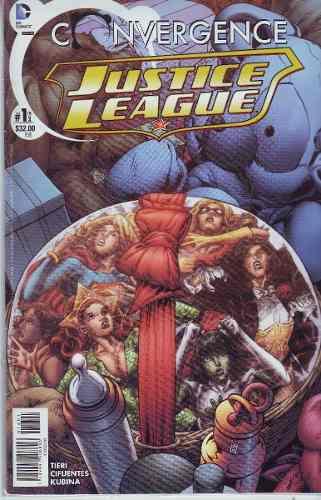 Comic Justice League Saga Convergencia Dos Tomos Completa