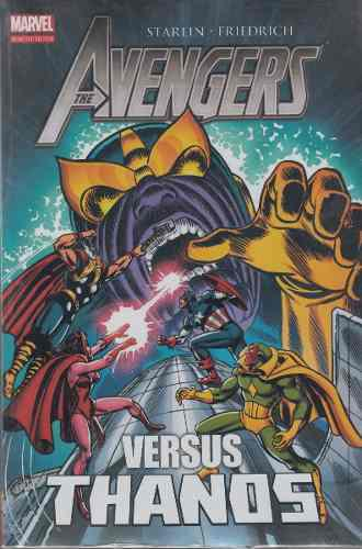 Comic Marvel Avengers Vs Thanos Libro 1 Español