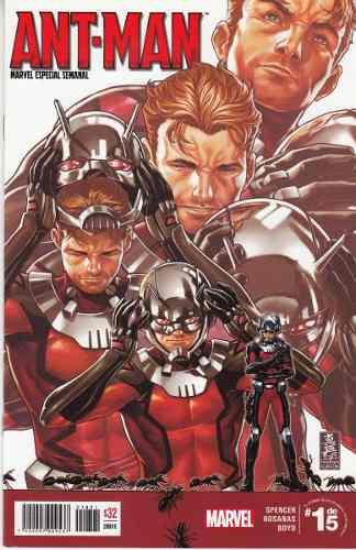 Comic Marvel Saga Ant-man 5 Tomos Completa Nuevos, Sueltos