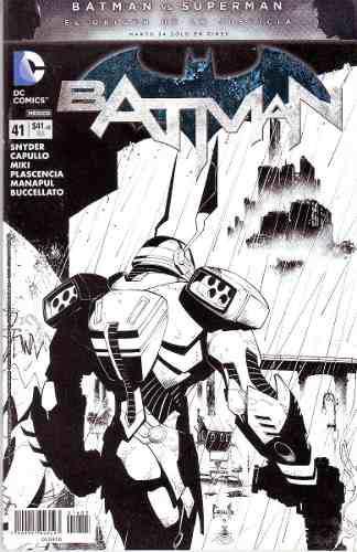 Comic New 52 Batman # 41 Español Televisa Bolsa Carton