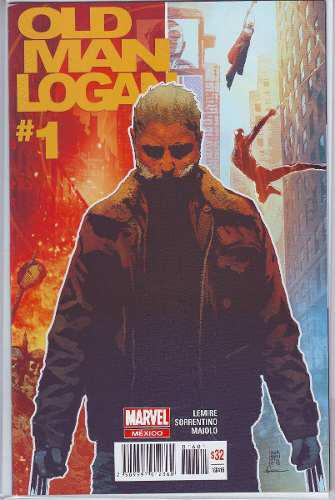 Comic Old Man Logan # 1 Editorial Televisa Español