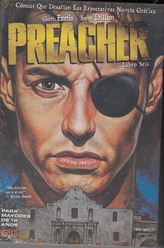 Comic Preacher Libro 06 Garth Ennis Vertigo Novela Grafica