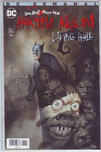 Comic Saga De Arkham Asylum Living Hell Editoreal Televisa