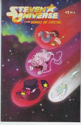 Comic Saga Steven Universe Y Las Gemas De Cristal Kamite