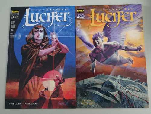 Comic Sandman Lucifer Casa De Las Salas Sin Ventanas Norma
