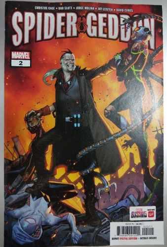Comic Spider Geddon No.2 Marvel (ingles)