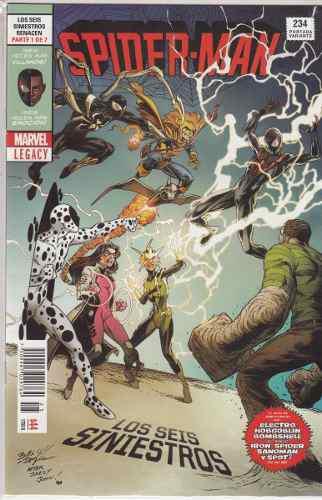 Comic Spider-man # 234 Los Seis Siniestros Nuevo