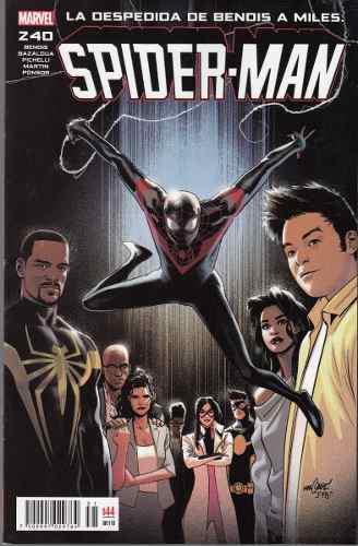 Comic Spiderman # 240 La Despedida De Bendis A Miles Morales