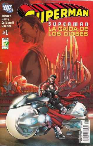 Comic Superman La Caida De Los Dioses # 1 Editorial Vid