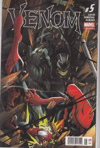 Comic Venom #5 Nuevo Carton Y Bolsita Gratis