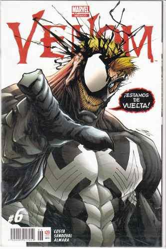Comic Venom # 6 Nuevo Español Carton Y Bolsa Gratis