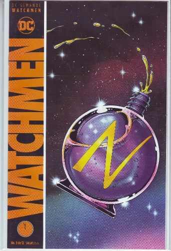 Comic Watchmen # 9 Alan Moore Español Carton Bolsita Gratis