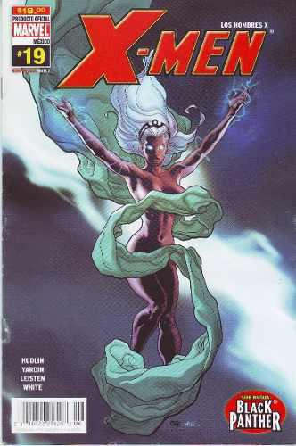 Comic X-men # 19 Serie Invitada Black Phanter Año 2006