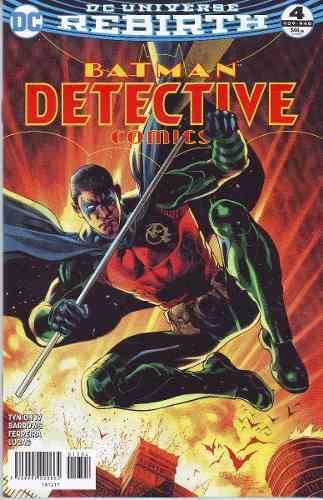 Comics Dc Universe Rebirth Batman Detective Comics # 4 Nuevo
