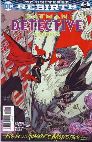 Comics Dc Universe Rebirth Batman Detective Comics # 5 Nuevo