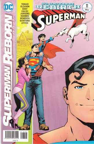 Comics Dc Universe Rebirth Superman # 11 Nuevo Español